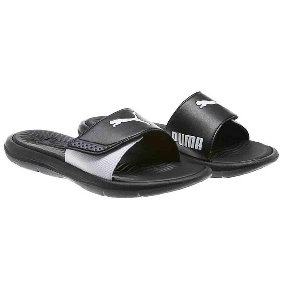 New Women s Puma Slides Sandals Size 7 0a25f7121